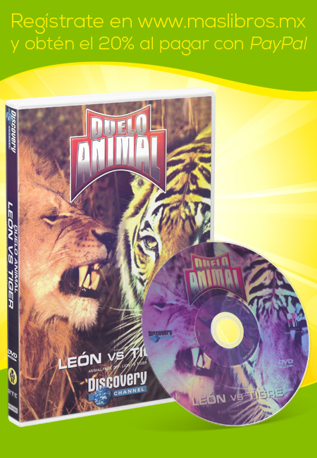 Duelo Animal León Vs Tigre en DVD