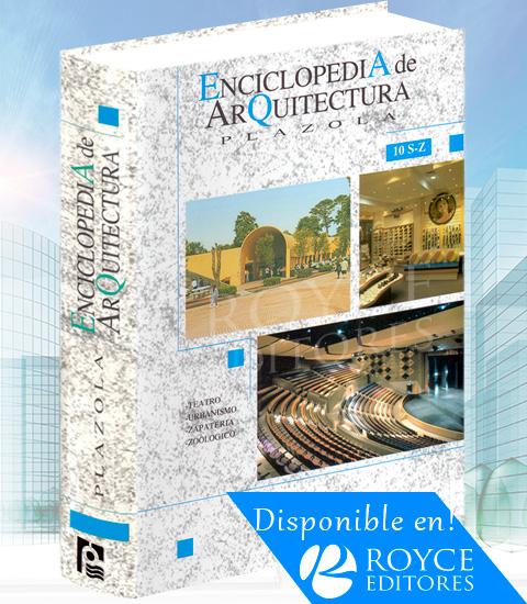 Tomo 10 enciclopedia de arquitectura plazola en royceshop for Libros sobre planos arquitectonicos