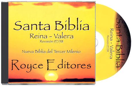 CD Santa Biblia Reina Valera Nueva Biblia del Tercer Milenio Revisión 97/98