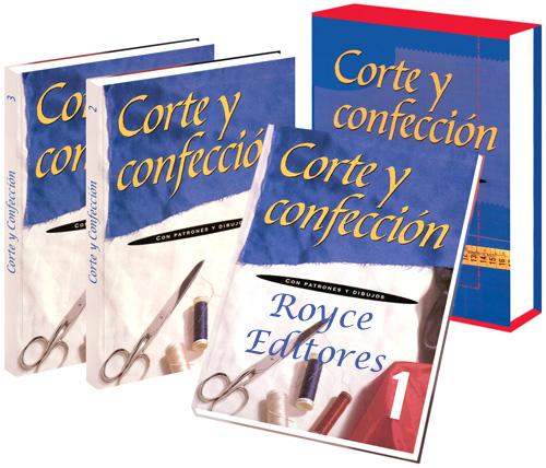 Corte y Confección con Patrones y Dibujos 3 Vols